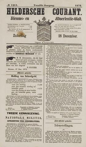 Heldersche Courant 1872-12-28