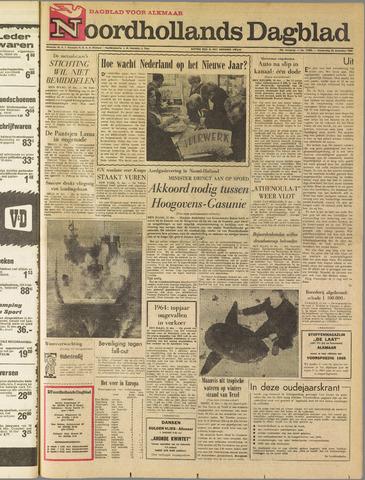 Noordhollands Dagblad : dagblad voor Alkmaar en omgeving 1964-12-31