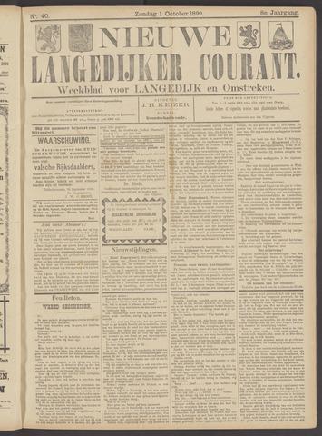 Nieuwe Langedijker Courant 1899-10-01