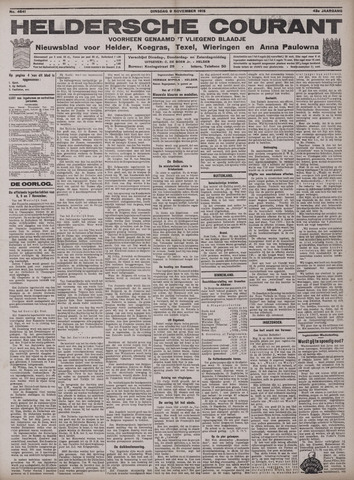 Heldersche Courant 1915-11-09