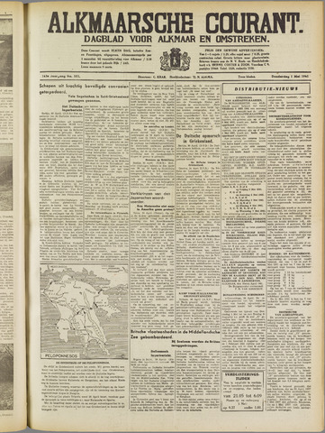 Alkmaarsche Courant 1941-05-01