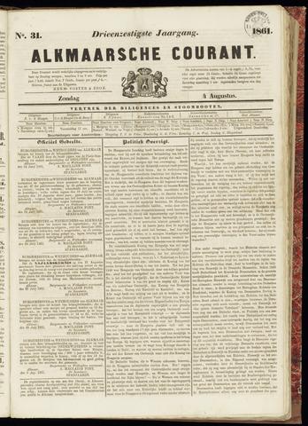 Alkmaarsche Courant 1861-08-04