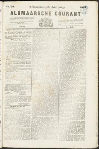 Alkmaarsche Courant 1867-07-14