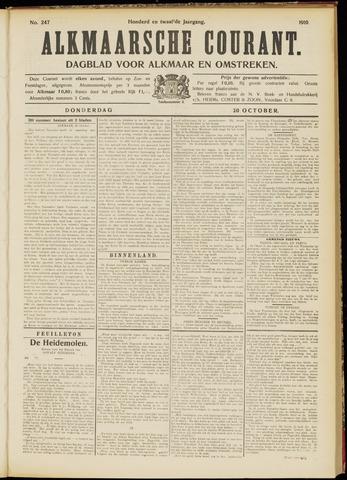 Alkmaarsche Courant 1910-10-20
