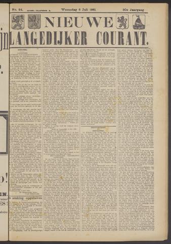 Nieuwe Langedijker Courant 1921-07-06