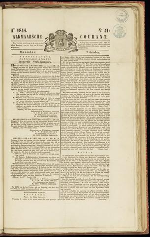 Alkmaarsche Courant 1844-10-07