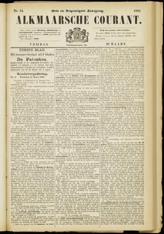 Alkmaarsche Courant 1891-03-20