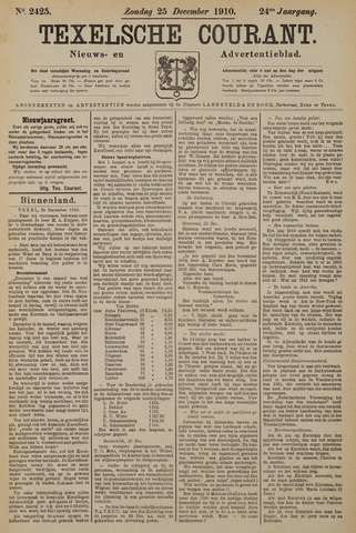 Texelsche Courant 1910-12-25