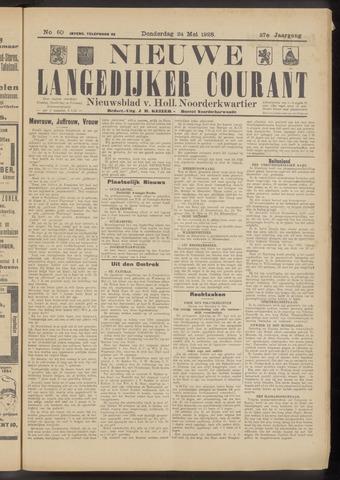 Nieuwe Langedijker Courant 1928-05-24