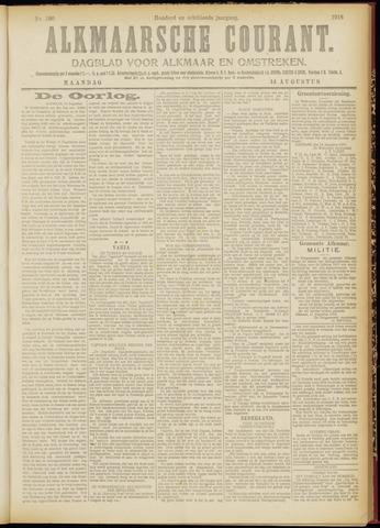 Alkmaarsche Courant 1916-08-14