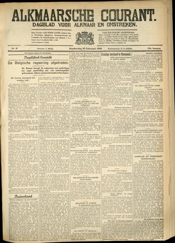 Alkmaarsche Courant 1933-02-16
