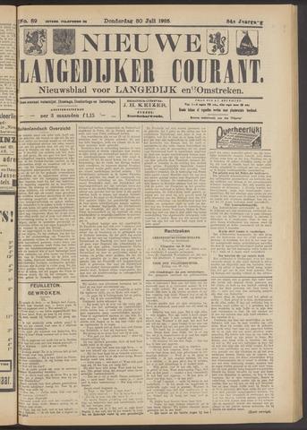 Nieuwe Langedijker Courant 1925-07-30