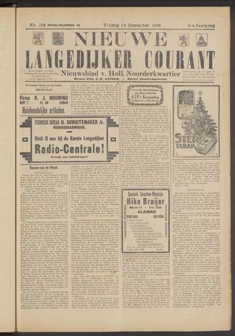 Nieuwe Langedijker Courant 1926-12-24