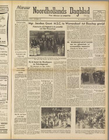 Nieuw Noordhollandsch Dagblad : voor Alkmaar en omgeving 1947-09-02