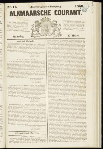 Alkmaarsche Courant 1856-03-17
