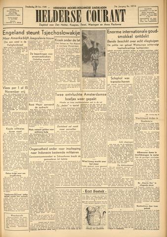 Heldersche Courant 1949-10-20