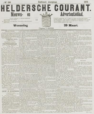 Heldersche Courant 1876-03-29