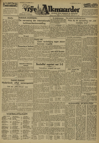 De Vrije Alkmaarder 1946-11-18