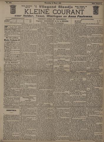 Vliegend blaadje : nieuws- en advertentiebode voor Den Helder 1908-03-18