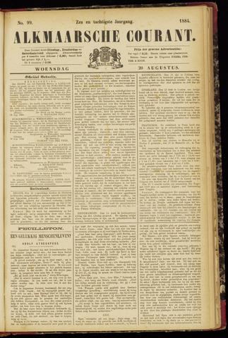 Alkmaarsche Courant 1884-08-20