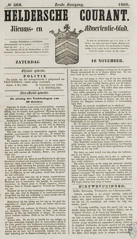 Heldersche Courant 1866-11-10