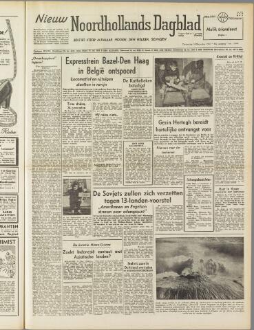 Nieuw Noordhollandsch Dagblad : voor Alkmaar en omgeving 1950-12-14