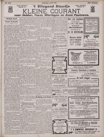 Vliegend blaadje : nieuws- en advertentiebode voor Den Helder 1904-04-09