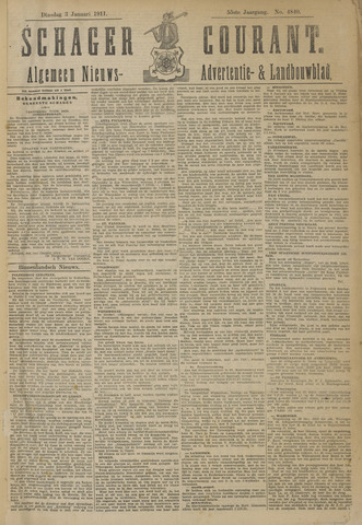 Schager Courant 1911