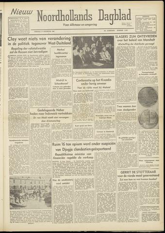 Nieuw Noordhollandsch Dagblad : voor Alkmaar en omgeving 1948-08-17