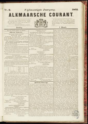 Alkmaarsche Courant 1863-03-01