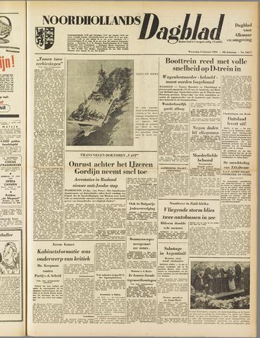 Noordhollands Dagblad : dagblad voor Alkmaar en omgeving 1953-01-14