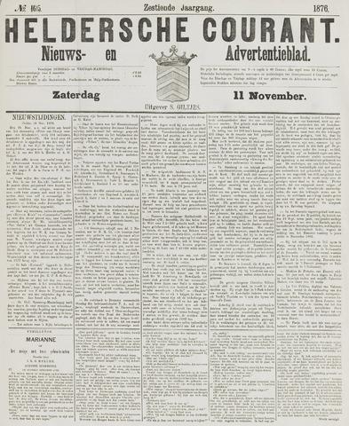 Heldersche Courant 1876-11-11