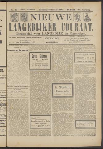 Nieuwe Langedijker Courant 1920-10-09