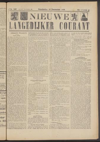Nieuwe Langedijker Courant 1925-12-10