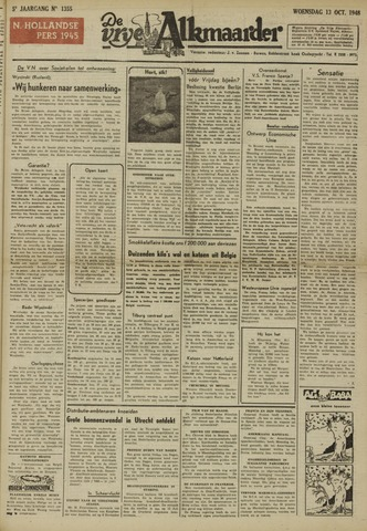 De Vrije Alkmaarder 1948-10-13