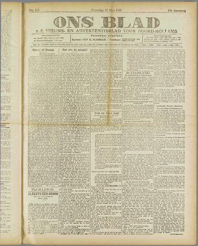 Ons Blad : katholiek nieuwsblad voor N-H 1920-05-15