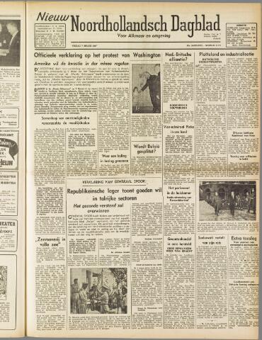 Nieuw Noordhollandsch Dagblad : voor Alkmaar en omgeving 1947-03-07