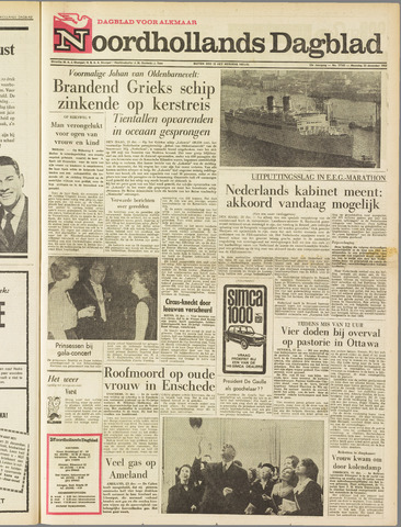 Noordhollands Dagblad : dagblad voor Alkmaar en omgeving 1963-12-23