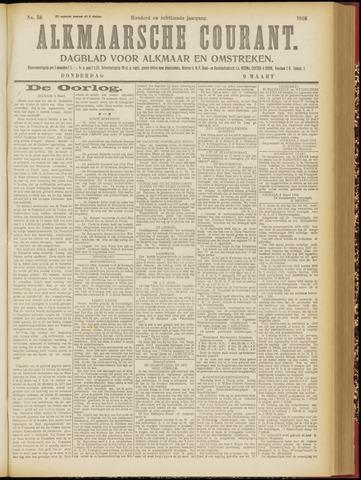 Alkmaarsche Courant 1916-03-09