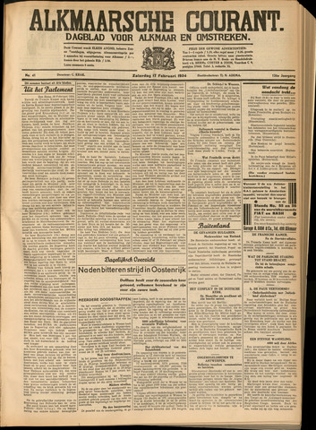 Alkmaarsche Courant 1934-02-17