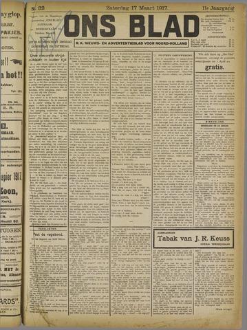 Ons Blad : katholiek nieuwsblad voor N-H 1917-03-17