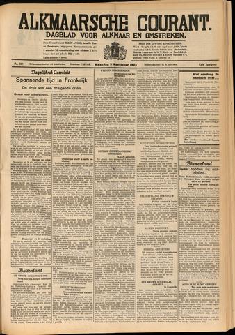 Alkmaarsche Courant 1934-11-05