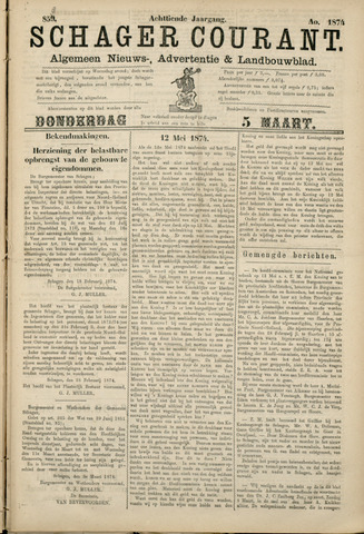 Schager Courant 1874-03-05