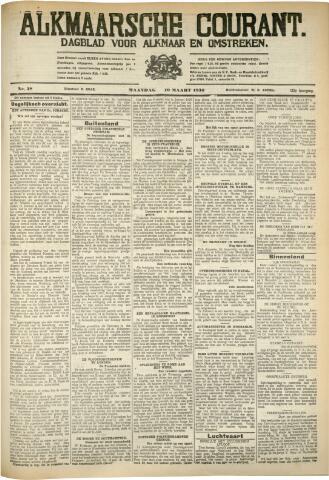 Alkmaarsche Courant 1930-03-10