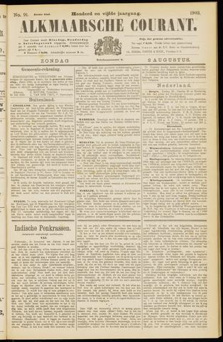 Alkmaarsche Courant 1903-08-02