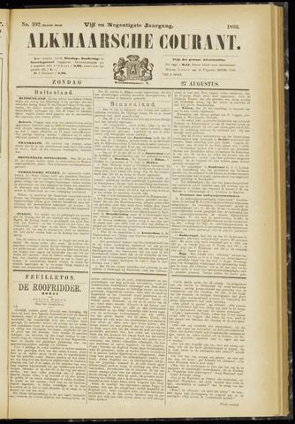 Alkmaarsche Courant 1893-08-27