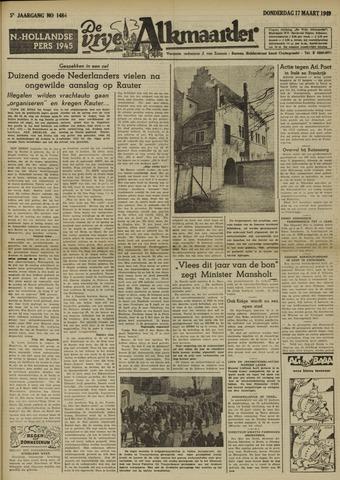 De Vrije Alkmaarder 1949-03-17