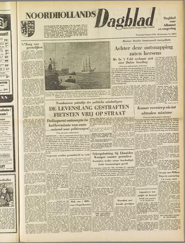 Noordhollands Dagblad : dagblad voor Alkmaar en omgeving 1953-01-07