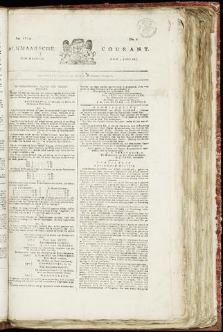 Alkmaarsche Courant 1819-01-04