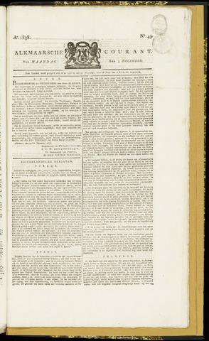 Alkmaarsche Courant 1838-12-03